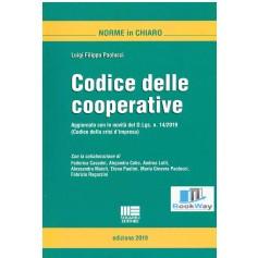 codice delle cooperative 2019