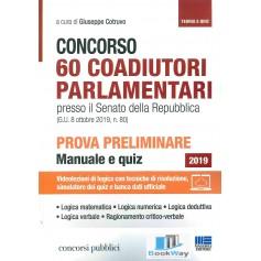 60 coadiutori parlamentari  concorso