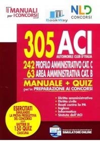 305 aci automobile club d'italia - profilo amministrativo cat. c - area amministrativa cat. b