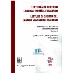 lecturas de derecho laboral espaniol e italiano - letture di diritto del lavoro spagnolo e italiano