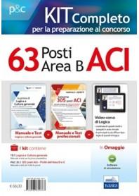 Concorso 63 Posti ACI Area B Tutte le Materie per la Prova Scritta e Orale Kit