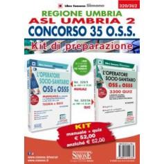 Concorso 35 O.S.S. Regione Umbria ASL Umbria 2 Kit