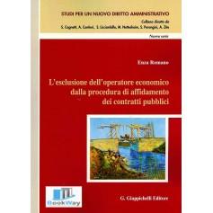 esclusione dell'operatore economico dalla procedura di affidamento dei contratti pubblici (l')