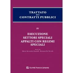 Trattato sui Contratti Pubblici Vol 4 di Sandulli, De Nictolis