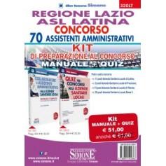 Concorso 70 Assistenti Amministrativi Regione Lazio ASL Latina Kit