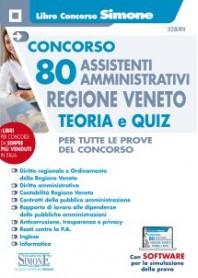 Concorso 80 Assistenti Amministrativi Regione Veneto Teoria e Quiz