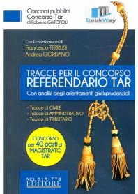 tracce per concorso referendari tar