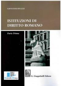 istituzioni di diritto romano - parte prima