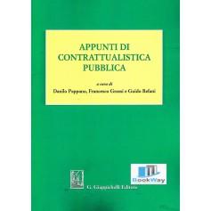 appunti di contrattualistica pubblica