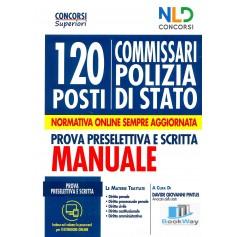 120 posti di commissario della polizia di stato