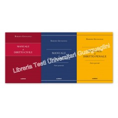 Offerte 3 Manuali Magistratura Civile, Penale Generale e Penale Speciale di Giovagnoli Kit