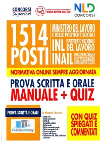1514 posti ministero del lavoro e delle politiche sociali