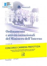 ordinamento e attivitÀ istituzionali del ministero dell'interno ed. 2020