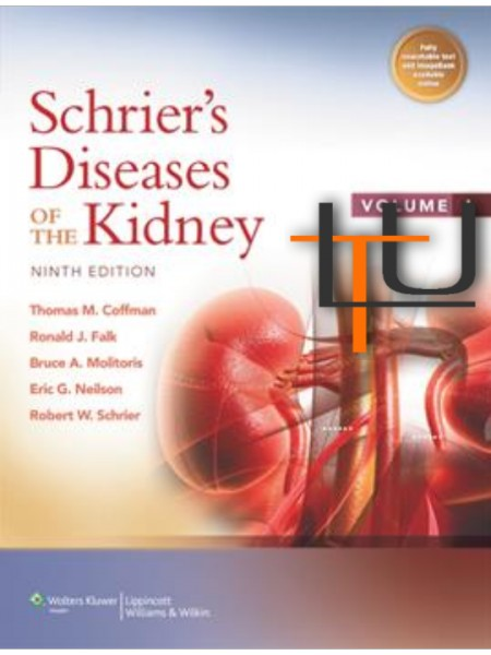 Schrier's diseases of the kidney 9th ed. vol. 1/2   di Coffman