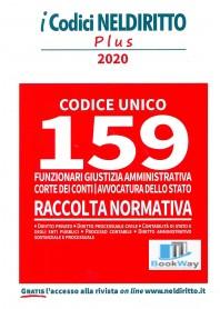 159 posti funzionari giustizia amministrativa corte dei conti, avvocatura dello stato - codice unico