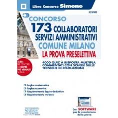 Concorso 173 Collaboratori Servizi Amministrativi Comune Milano Prova Preselettiva