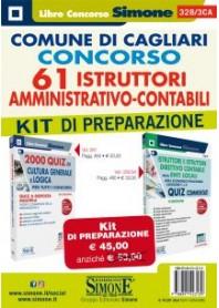 Concorso 61 Istruttori Amministrativo-Contabili Comune di Cagliari Kit