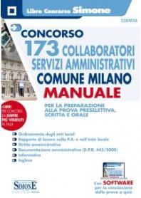 Concorso 173 Collaboratori Servizi Amministrativi Comune Milano Manuale