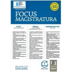 focus di magistratura 1-3 gennaio 2020