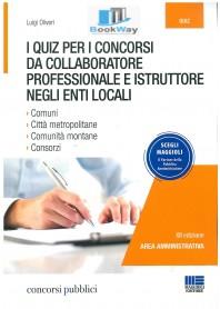 quiz per i concorsi da collaboratore professionale e istruttore negli enti locali (i)