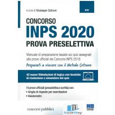 concorso inps 2020 prova preselettiva