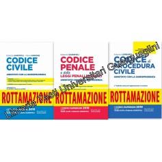 Offerte 3 Codici Esame Avvocato 2020 Neldiritto ROTTAMAZIONE CC+CP+CPC di Garofoli, De Gioia, Lombardi