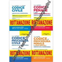 Offerte 4 Codici Esame Avvocato Nel Diritto 2020 ROTTAMAZIONE di Garofoli, Iannone, De Gioia, Lomabrdi