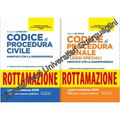 Offerte 2 Codici Esame Avvocato 2020 Neldiritto ROTTAMAZIONE CPC+CPP di Lombardi, De Gioia
