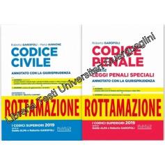 Offerte 2 Codici Esame Avvocato 2020 Neldiritto ROTTAMAZIONE CC+CP di Garofoli, Iannone