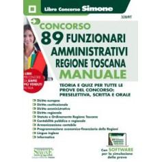 Concorso 89 Funzionari Amministrativi Regione Toscana Manuale