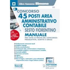 Concorso 45 posti Area Amministrativo Contabile Sesto Fiorentino Manuale