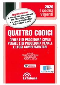 QUATTRO CODICI- VIGENTI 2020