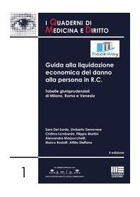 GUIDA ALLA LIQUIDAZIONE ECONOMICA DEL DANNO ALLA PERSONA IN R.C.