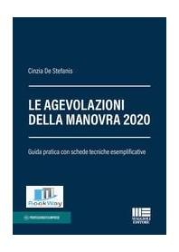 AGEVOLAZIONI DELLA MANOVRA 2020 (LE).