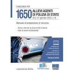 1650 allievi agenti di polizia di stato