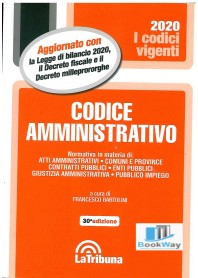 codice amministrativo - vigenti 2020