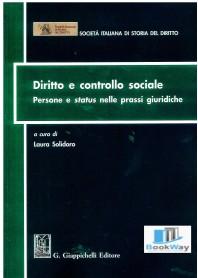 diritto e controllo sociale - persone e status nelle prassi giuridiche