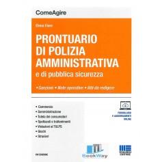 prontuario di polizia amministrativa e di pubblica sicurezza