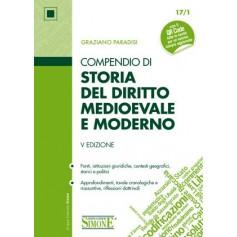 Compendio di Storia del Diritto Medievale e Moderno di Paradisi