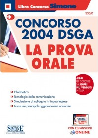 Concorso 2004 DSGA la Prova Orale