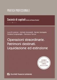 Operazioni Societarie Patrimoni Destinati Liqu.Estinzione di Di Lorenzo, Mozzarelli, Santagata, De Castro, Scognamiglio, Terrusi