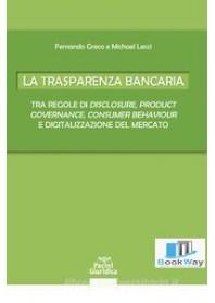 trasparenza bancaria (la)
