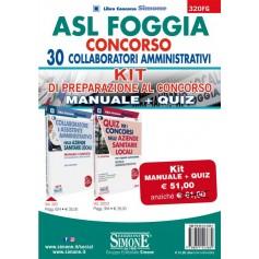 Asl Foggia 30 Collaboratori Amministrativi Kit