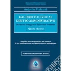 Dal Diritto Civile al Diritto Amministrativo di Plaisant