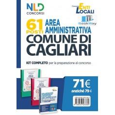 61 posti area amministrativa comune di cagliari - kit completo per la preparazione al concorso