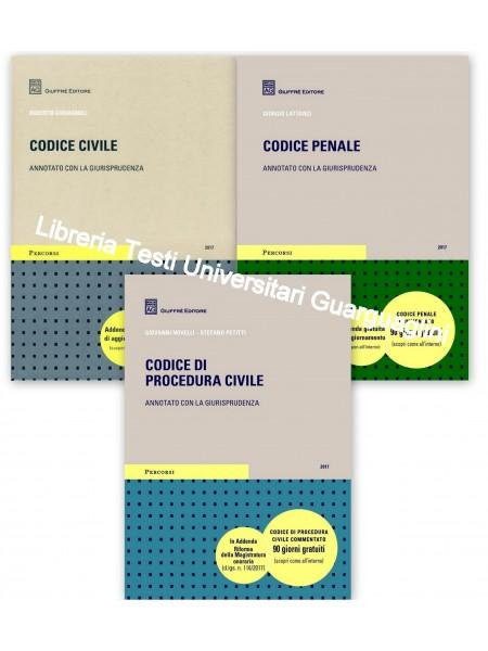 Offerte 3 Codici Esame Avvocato 2020 Giuffre' ROTTAMAZIONE CC+CP+CPC