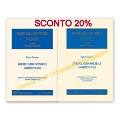 Offerta Formulario Notarile Commentato di Carbone Kit