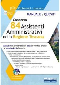 Concorso 84 Assistenti Amministrativi nella Regione Toscana