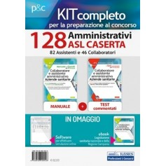 Concorso 128 Amministrativi Asl Caserta Kit