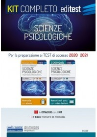 Editest Scienze Psicologiche Kit